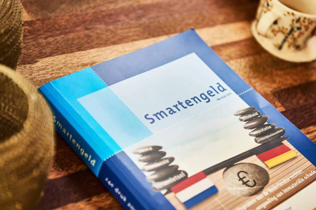 Boek smartengeld